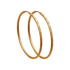 Серьги конго из золота с алмазной гранью 140065 SOKOLOV