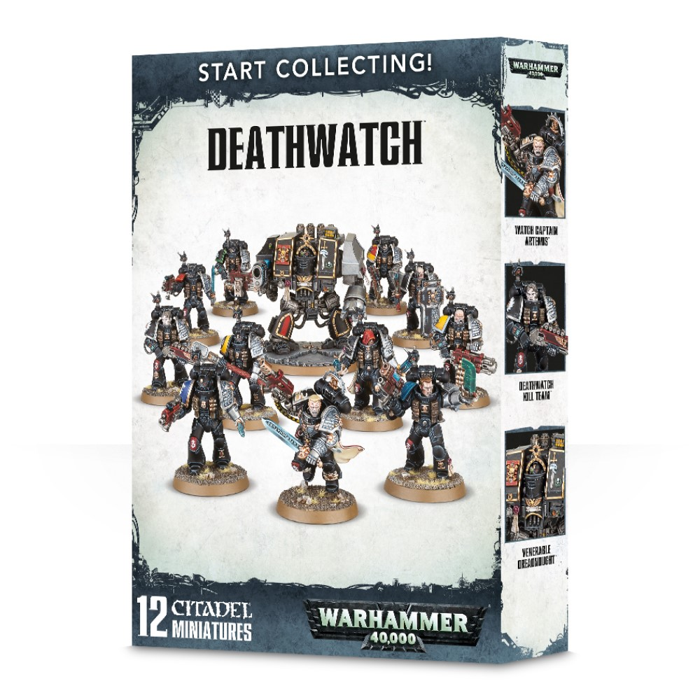 Миниатюры Warhammer 40000: Start Collecting! Deathwatch