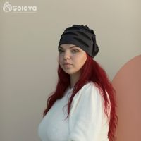 Головной убор из трикотажа Линда Golova