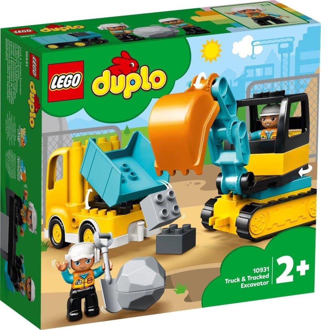 Констр-р LEGO DUPLO Town Грузовик и гусеничный экскаватор