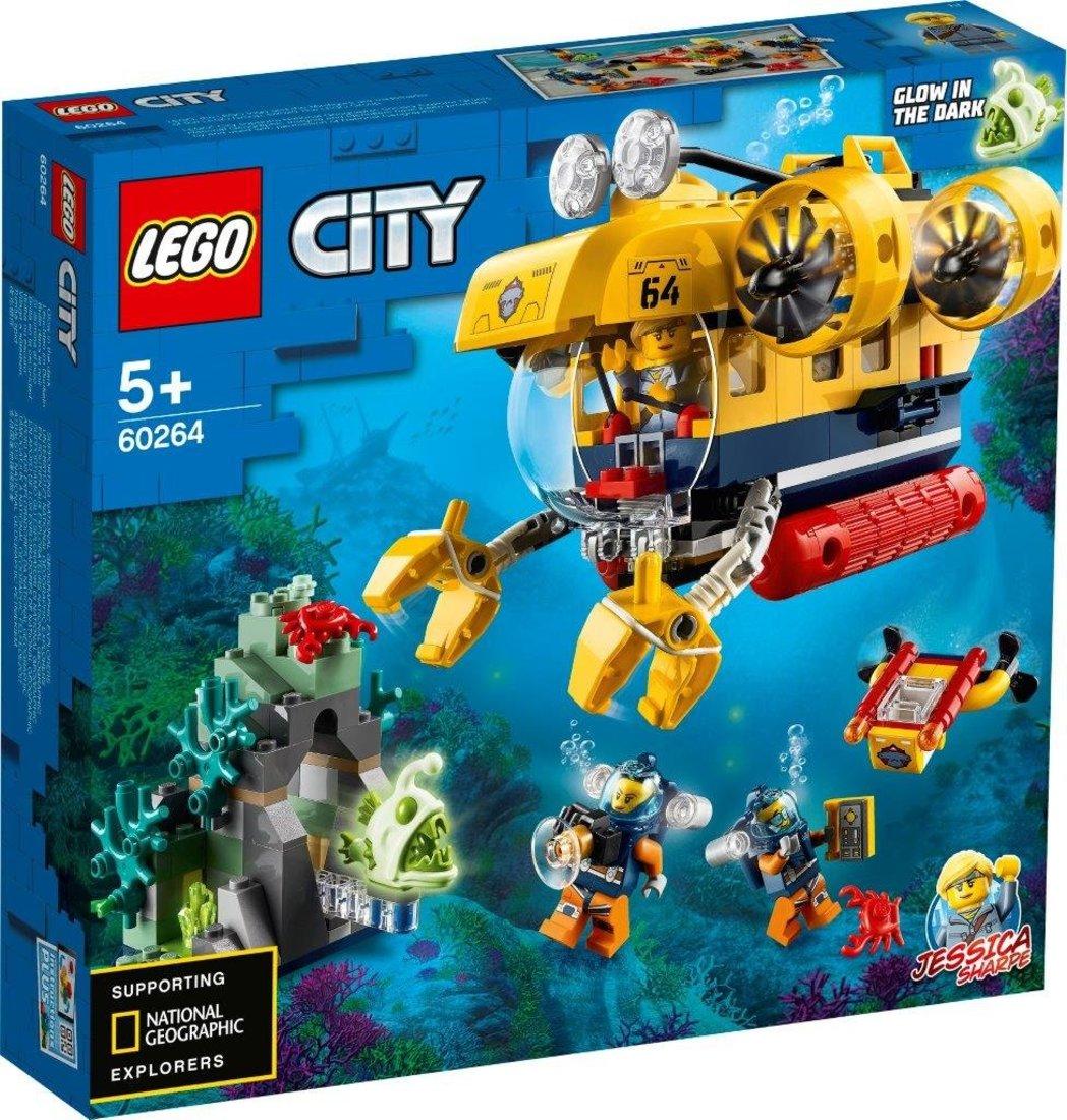 Констр-р LEGO City Oceans Океан: исследовательская подводная лодка