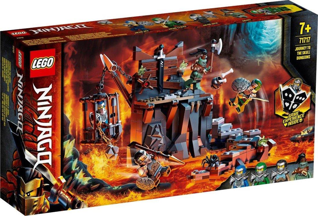 Констр-р LEGO Ninjago Путешествие в Подземелье черепа