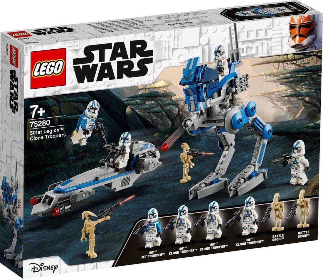 Констр-р LEGO Star Wars TM Клоны-пехотинцы 501-го легиона