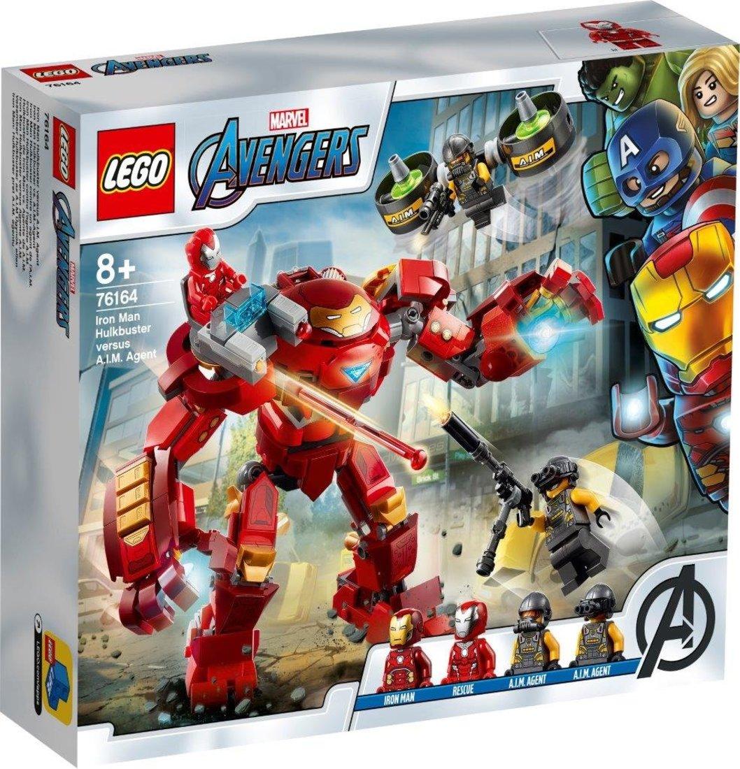 Констр-р LEGO Super Heroes Халкбастер против агента А.И.М.