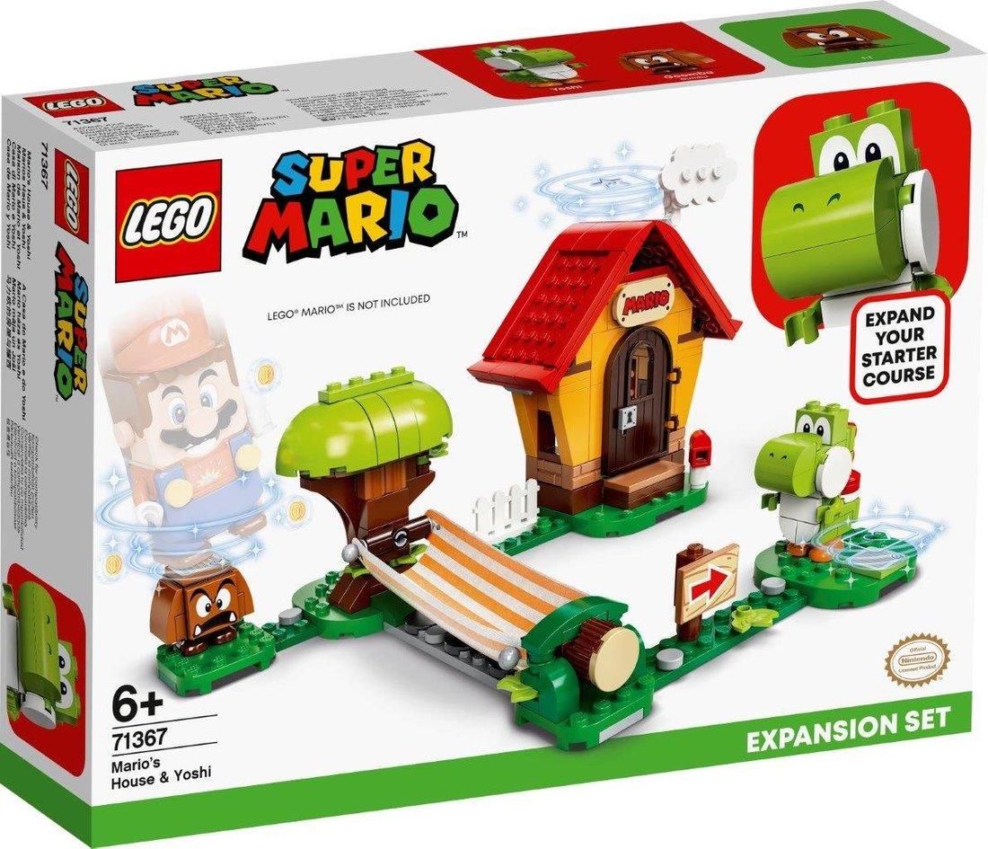 Констр-р LEGO Super Mario Дом Марио и Йоши. Дополнительный набор