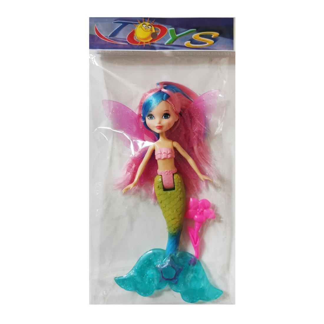 """Игр. набор """"Русалка"""", в комплекте кукла 24 см, предметов 1шт, пакет"""