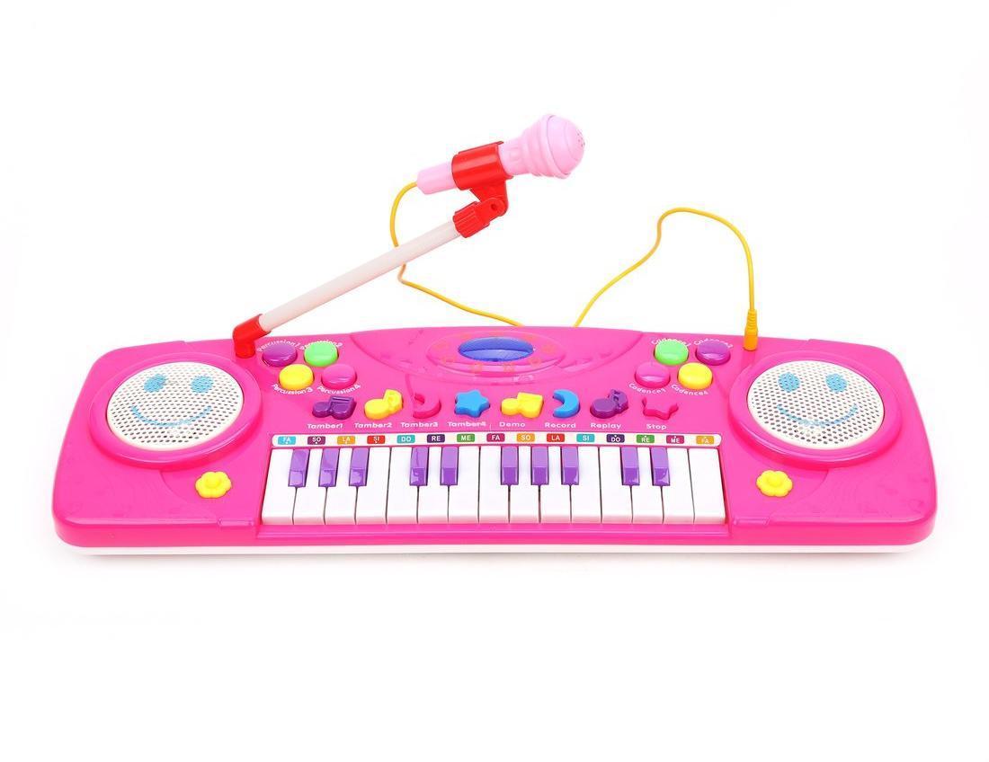 Орган эл. Смайл 25 клавиш, свет, микрофон, демо, запись, эл.пит. 3АА не вх.в комплект