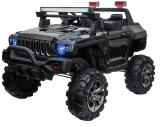 Детский электромобиль (2020) DG123 (12V, EVA, экокожа) Черный