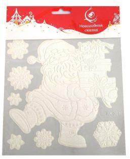 Наклейка Дед Мороз 18*18см