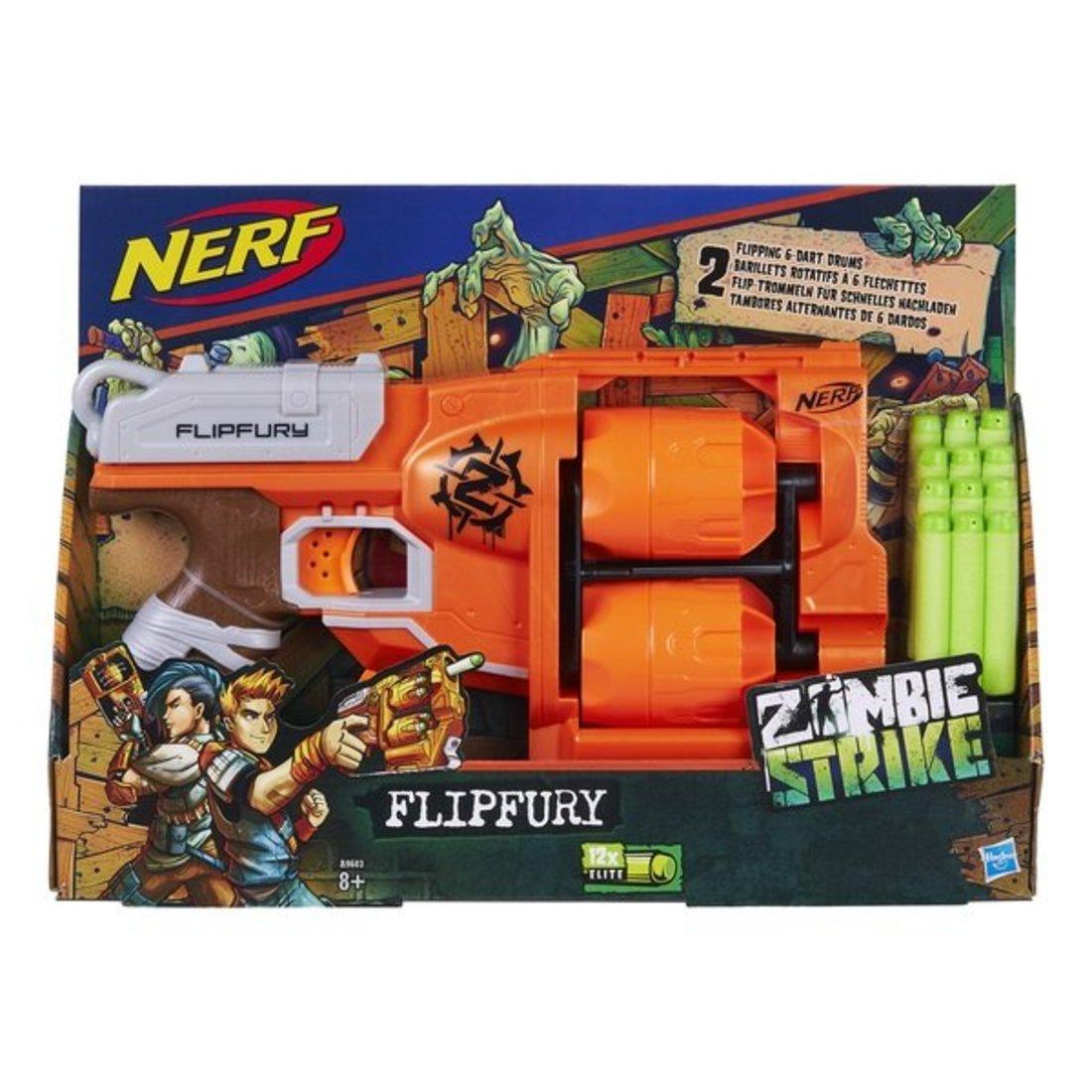 Игр.набор бластер Nerf Зомби Переворот