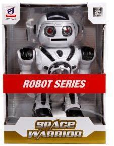 Робот эл., свет, звук, ходит, стреляет м/дисками 10 шт., эл.пит.AA*3шт. не вх.в комплект