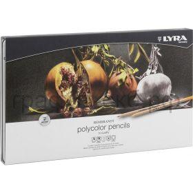 Карандаши цв.72цв.LYRA REMBRAND Polycolor металлическая коробка 2001720