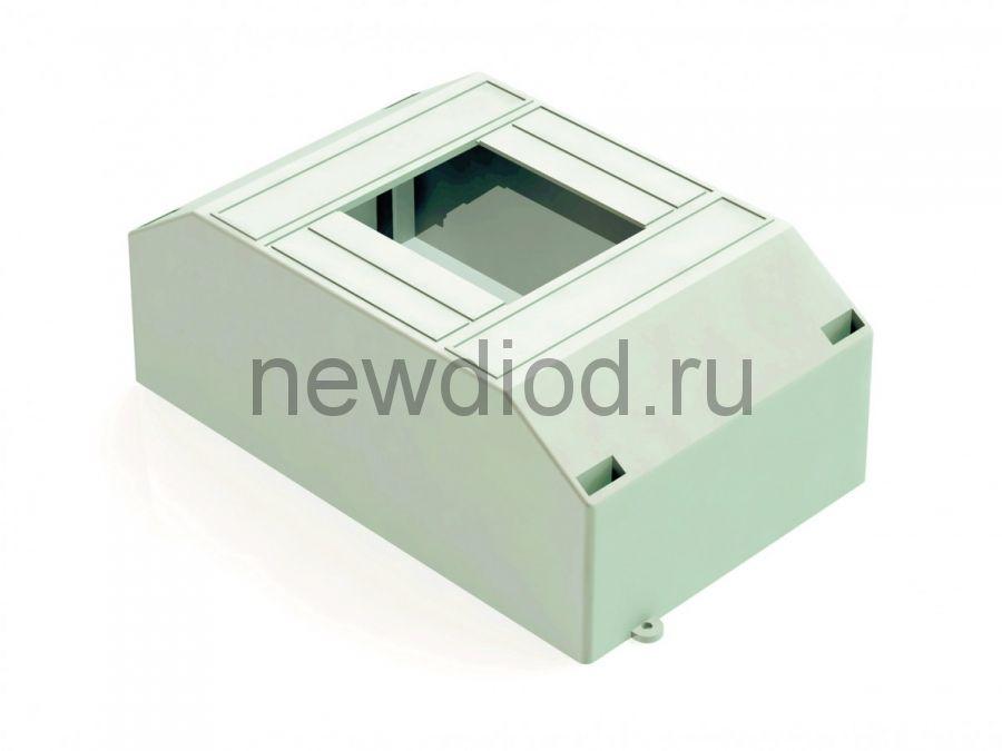 Корпус пласт. навесной 2-4 модуля, IP30, БЕЛЫЙ, Щ