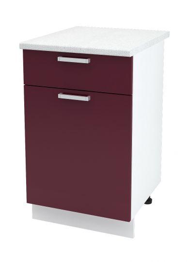 Шкаф нижний с 1 ящиком Дина ШН1Я 500
