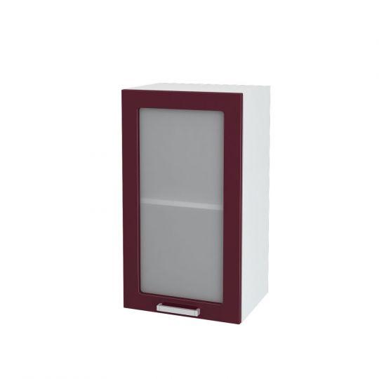 Шкаф верхний со стеклом Дина ШВС 400