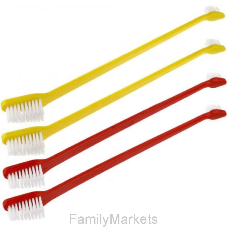 Набор двусторонних зубных щёток для собак Htbrush HTB032, 8 шт