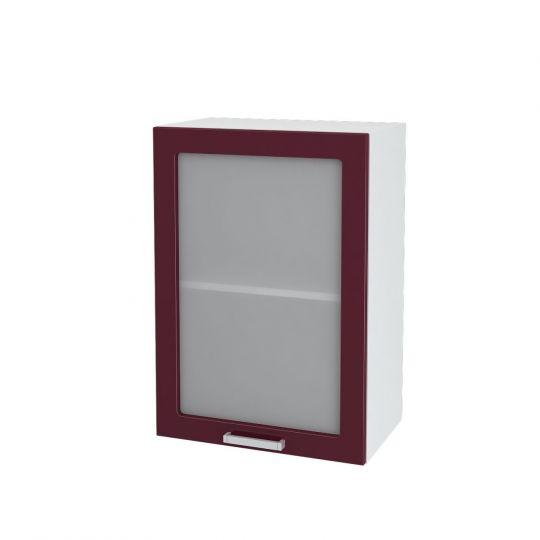 Шкаф верхний со стеклом Дина ШВС 500