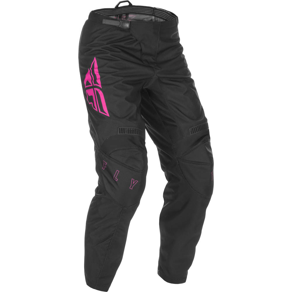 Fly Racing 2021 F-16 Black/Pink штаны