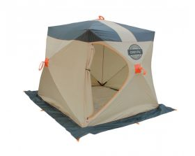 Зимняя палатка Митек Омуль Куб 2 хаки/беж