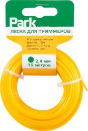 """Леска для триммера 3,0 мм 15 м """"Park"""" круг"""