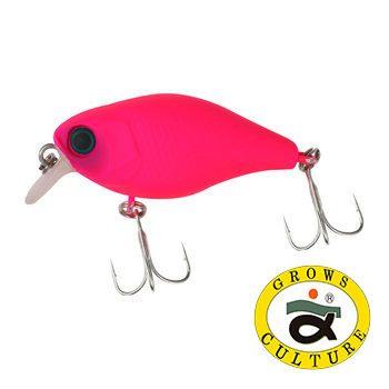 Воблер Grows Culture Chubby New 38 мм / 4 гр / Заглубление: 0,6 - 1 м / цвет:  Pink