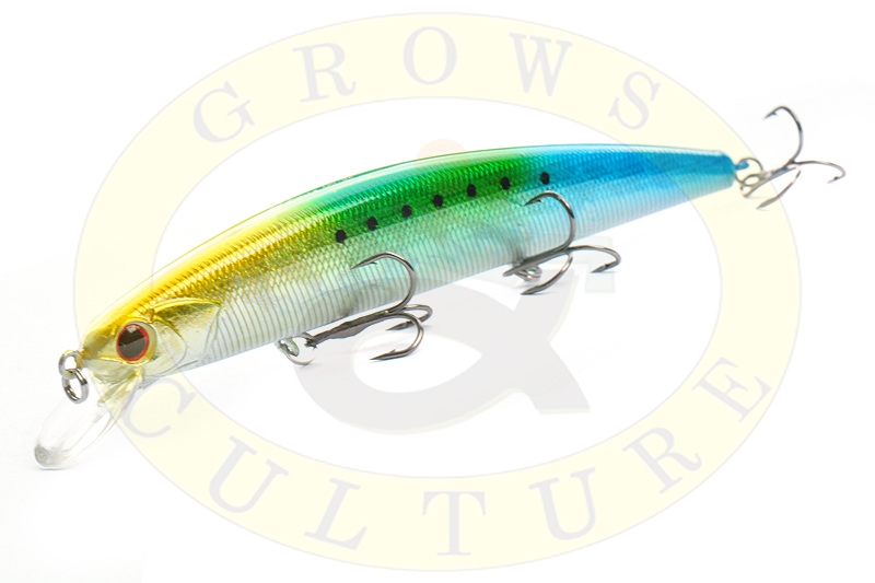 Воблер Grows Culture Rudla 130SP 130 мм / 20 гр / Заглубление: 1,5 - 2 м / цвет:  HS-38