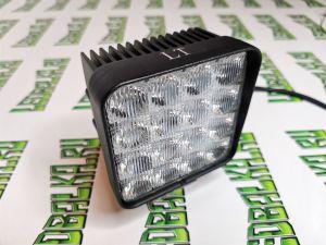 Квадратная светодиодная LED фара рабочего света 48W, CREE