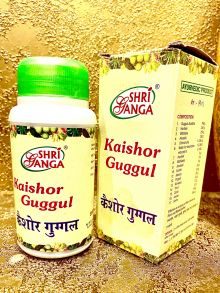 Kaishor Guggul Shri Ganga (Кайшор Гуггул Шри Ганга) 100гр