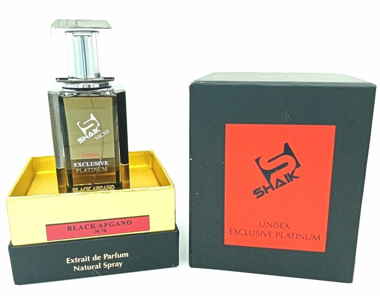 Shaik VIP Black Afgano (№70), 110ml