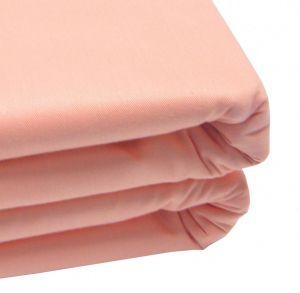 Простынь цвет розовый 110-55