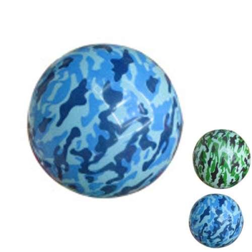 Мяч камуфляжный ПВХ 22 см, 60 гр, принт