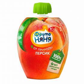 ФрутоНяня персик 90г