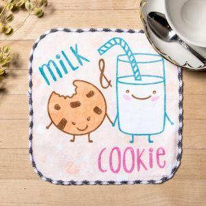 """Полотенце микрофибра """"Молоко"""" 20х20 см"""