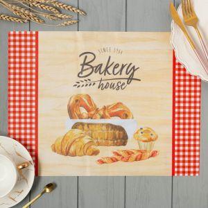 "Салфетки на стол ""Bakery house"" 30х40см, 100% п/э, оксфорд 420 г/м2"