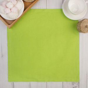 """Салфетка """"Этель"""" Зелёное яблоко 40х40, 100% хл, рогожка 165 г/м2"""