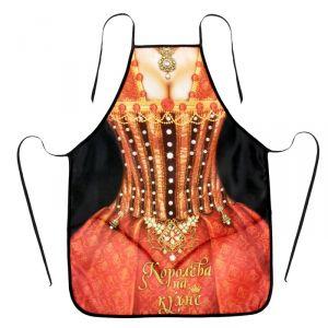 """Фартук текстиль """"Королева на кухне"""""""