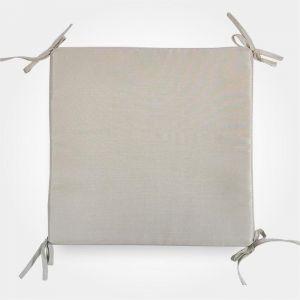 Сидушка на стул бамбук, цвет бежевый, 34х34х1,5 см