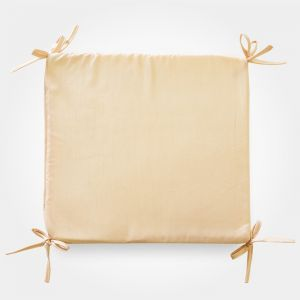 Сидушка на стул бамбук золото 34х34х1,5см, жаккард, поролон, пэ100% 4855567