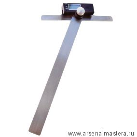 Угломер электронный Т-образный iGaging 0-180 град 200 х 300 мм М00018037