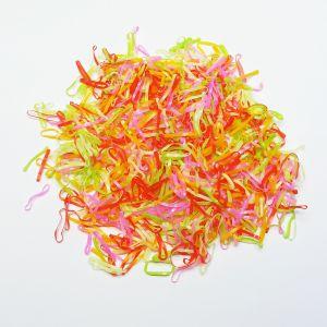 `Силиконовые резинки для волос, диаметр 20 мм, ширина 2 мм, цвет: яркие (1уп = 10г ~220шт)