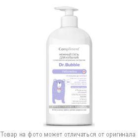 COMPLIMENT Dr.Bubble Нежный гель для купания Неболейка 0+ 400мл, шт