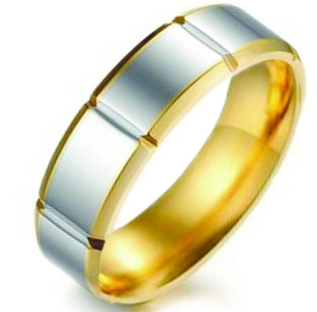 Позолоченное кольцо 07-370ST056m