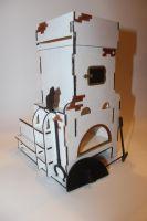 Чайный домик в виде печки