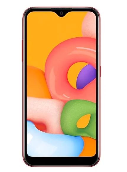 Смартфон SAMSUNG GALAXY A01 RED (SM-A015F)
