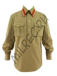 Гимнастерка (рубаха) хб комначсостава НКВД обр.1937 г. (под заказ)