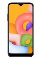 Смартфон SAMSUNG GALAXY A01 BLACK (SM-A015F)