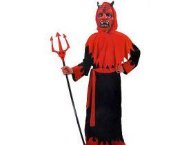 Карнавальный костюм ДЬЯВОЛ, на 7-10,11-14лет, в пакете с европодвесом