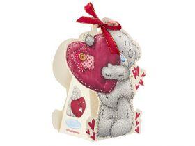 """Коробка для подарков Me to you """"Мишка Тедди"""", складная, 13*16 см, бумага"""