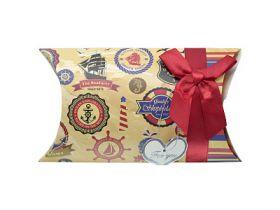 Коробка подарочная складная, 24,5*12,5 см