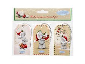 Набор бирок для декорирования подарков Me to you, 5*9 см, 6 шт, бумага